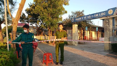 Hà Tĩnh: Khởi tố vụ án làm lây lan dịch bệnh truyền nhiễm ở Cẩm Xuyên