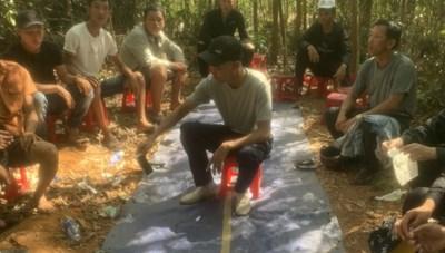 Quảng Nam: Bắt giữ 28 đối tượng đánh bạc ở rừng keo