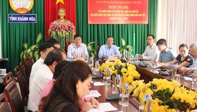 Khánh Hòa: Tập huấn công tác kiểm tra, giám sát bầu cử đại biểu Quốc hội và HĐND các cấp