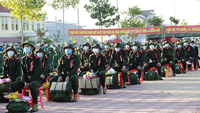 Bình Thuận: Rộn ràng ngày hội tòng quân năm 2021