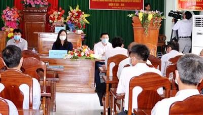 Phú Yên: Hội nghị đại biểu HĐND tỉnh tiếp xúc cử tri, vận động bầu cử