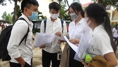 Bình Định: Gần 2.600 thí sinh dự thi tốt nghiệp THPT đợt 2