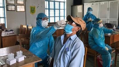 Khánh Hòa: Ghi nhận 63 trường hợp dương tính với SARS-CoV-2