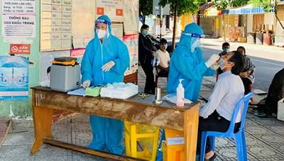 Khánh Hòa: 62% thôn, tổ dân phố không có ca dương tính SARS-CoV-2 trong cộng đồng