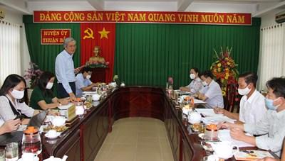 Mặt trận tỉnh Ninh Thuận: Giám sát cán bộ, đảng viên và công tác cán bộ
