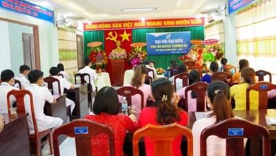 Khánh Hòa: Đại hội đại biểu Phụ nữ huyện Trường Sa nhiệm kỳ 2021 - 2026