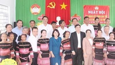 Bình Định: Phó Trưởng Ban Nội chính Trung ương dự Ngày hội Đại đoàn kết khu dân cư