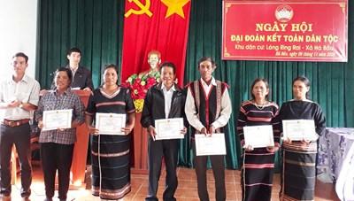 Gia Lai: Rộn ràng Ngày hội Đại đoàn kết dân tộc Jrai