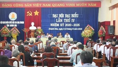 Khánh Hòa: Đại hội Hội Nạn nhân chất độc da cam/dioxin lần thứ IV