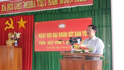 Bình Định: Ấm áp Ngày hội Đại đoàn kết xã Canh Vinh