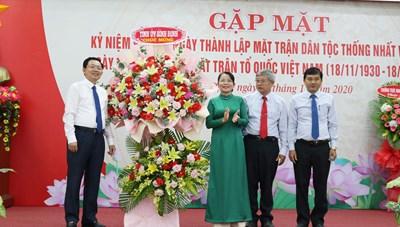 Bình Định: Kỷ niệm 90 năm Ngày truyền thống MTTQ Việt Nam