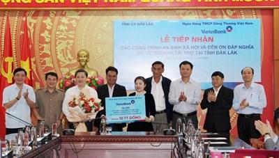 Đắk Lắk: Tiếp nhận 10 tỷ đồng cho công tác an sinh xã hội và đền ơn đáp nghĩa