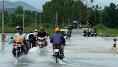 Phú Yên: Khẩn trương triển khai ứng phó mưa lũ