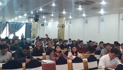 Đắk Lắk:Tập huấn nghiệp vụ cho cán bộ quản lý xây dựng nông thôn mới