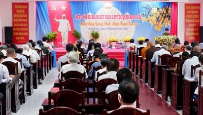 Cần Thơ: Hân hoan ngày hội đại đoàn kết toàn dân tộc