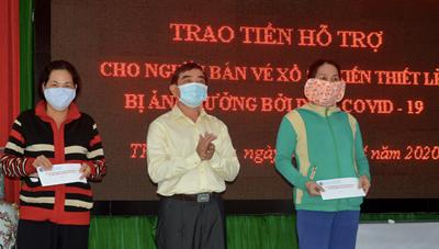 Sóc Trăng: Trên 5 tỷ đồng hỗ trợ người lao động tự do gặp khó khăn do dịch