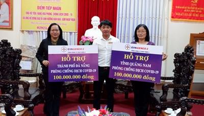 Mặt trận Cần Thơ tiếp nhận 200 triệu đồng từ Genco2