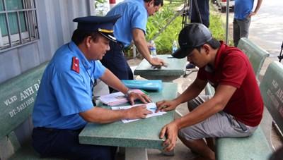 TP Hồ Chí Minh: Xử phạt các phương tiện vận tải vi phạm gần 2 tỷ đồng