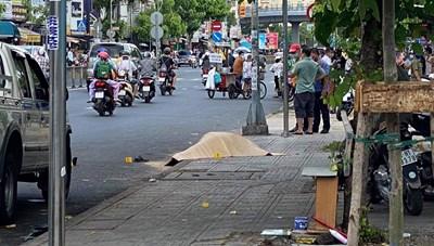 TP HCM: Một người đàn ông GrabBike bị đâm chết trước cổng Bệnh viện Nhi Đồng