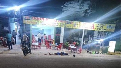 Bình Dương: Truy bắt 2 đối tượng đâm người đàn ông tử vong trong quán nhậu