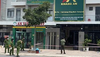 Bình Dương: Hai người chết trong công ty bất động sản, nghi sốc ma túy