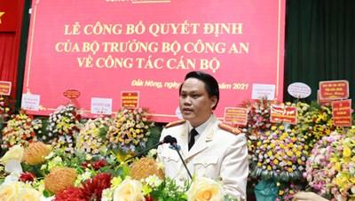 Đại tá Bùi Quang Thanh được bổ nhiệm Giám đốc Công An tỉnh Đắk Nông