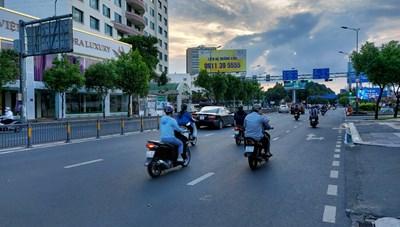 TP Hồ Chí Minh: Giao thông trên đường phố giảm khoảng 85%