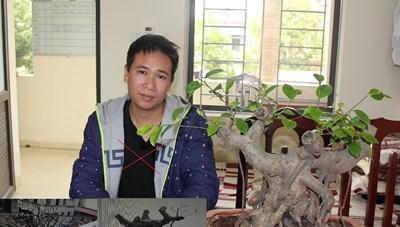 Hà Nam: Camera 'tố' thanh niên trộm cắp cây cảnh