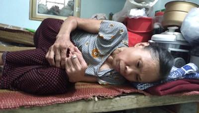 Nam Định: Cơ cực gia cảnh một người từng chiến đấu bảo vệ biên giới phía Bắc