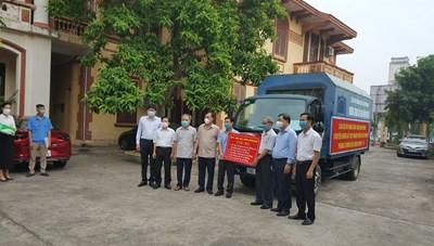 Nam Định: Gửi miền Nam 6 tỷ đồng, 100.000 khẩu trang để chống dịch