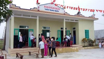 Nam Định: Triển khai sáp nhập thôn, tổ dân phố