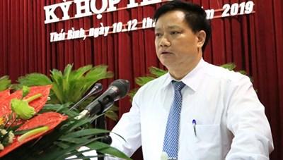 Thái Bình: Ông Nguyễn Khắc Thận làm Phó Chủ tịch thường trực UBND tỉnh