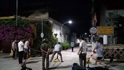 Hải Hậu (Nam Định): Phát hiện chùm 10 ca dương tính, chính quyền kích hoạt bệnh viện dã chiến