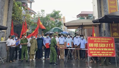 Nam Định qua 14 ngày không có ca mắc mới Covid-19