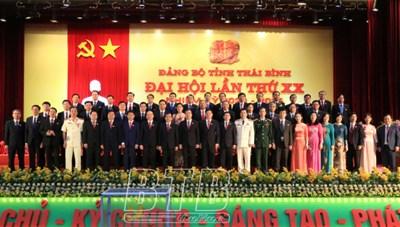 Ông Nguyễn Khắc Thận được bầu làm Phó Bí thư Tỉnh ủy Thái Bình