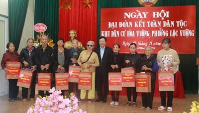 Phó Thủ tướng Phạm Bình Minh dự Ngày hội đại đoàn kết dân tộc tại Nam Định