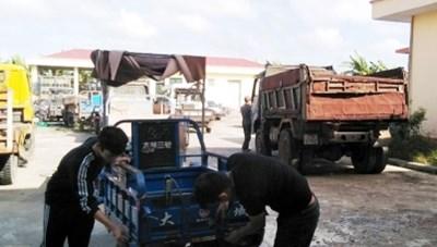 Thái Bình: Chủ cố tình lưu thông, 12 xe tự chế bị tiêu hủy