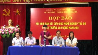 Hà Nội: Tổ chức hội nghị gắn kết Giáo dục nghề nghiệp Thủ đô với thị trường lao động 2021