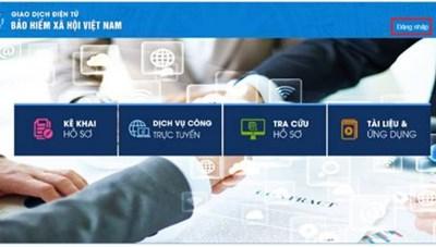 Hướng dẫn thay đổi thông tin giao dịch điện tử cá nhân với cơ quan bảo hiểm xã