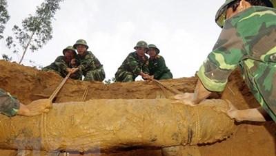 33 triệu USD xử lý bom mìn tại 3 tỉnh