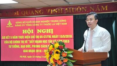 Đảng bộ Tổng công ty Thuốc lá Việt Nam – Đoàn kết, Sáng tạo từ học và làm theo Tư tưởng, đạo đức, phong cách Hồ Chí Minh