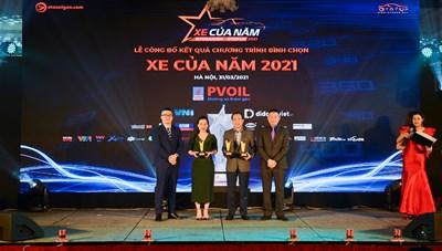 VinFast thắng lớn, giành 3 giải nhất trong Bình chọn 'Xe của năm 2021' tại Việt Nam