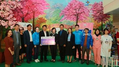 EVNNPC khánh thành và trao tặng 'Sân chơi thiếu nhi - Gửi gắm yêu thương' cho Bệnh viện Đa khoa tỉnh Yên Bái