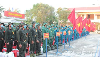 Ngày hội tòng quân trên miền đất võ Bình Định