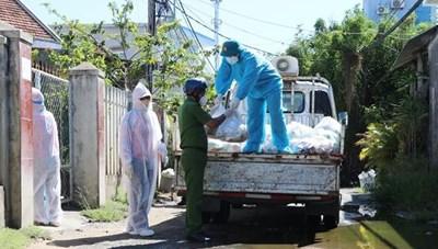 Phú Yên: Trao 2.200 'túi an sinh' cho người dân trong vùng phong tỏa