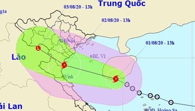 Bão số 2 hình thành trên Biển Đông, mưa lớn ở nhiều nơi