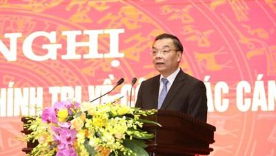 Ông Chu Ngọc Anh được điều động làm Phó Bí thư Thành ủy Hà Nội