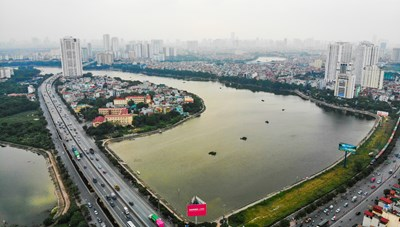 Khánh thành đường vành đai 3 đi thấp qua hồ Linh Đàm