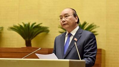 Thủ tướng Nguyễn Xuân Phúc trả lời chất vấn trước Quốc hội