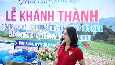 Hà Giang: Trẻ em Nà Bó hạnh phúc trong lễ khánh thành điểm trường mới